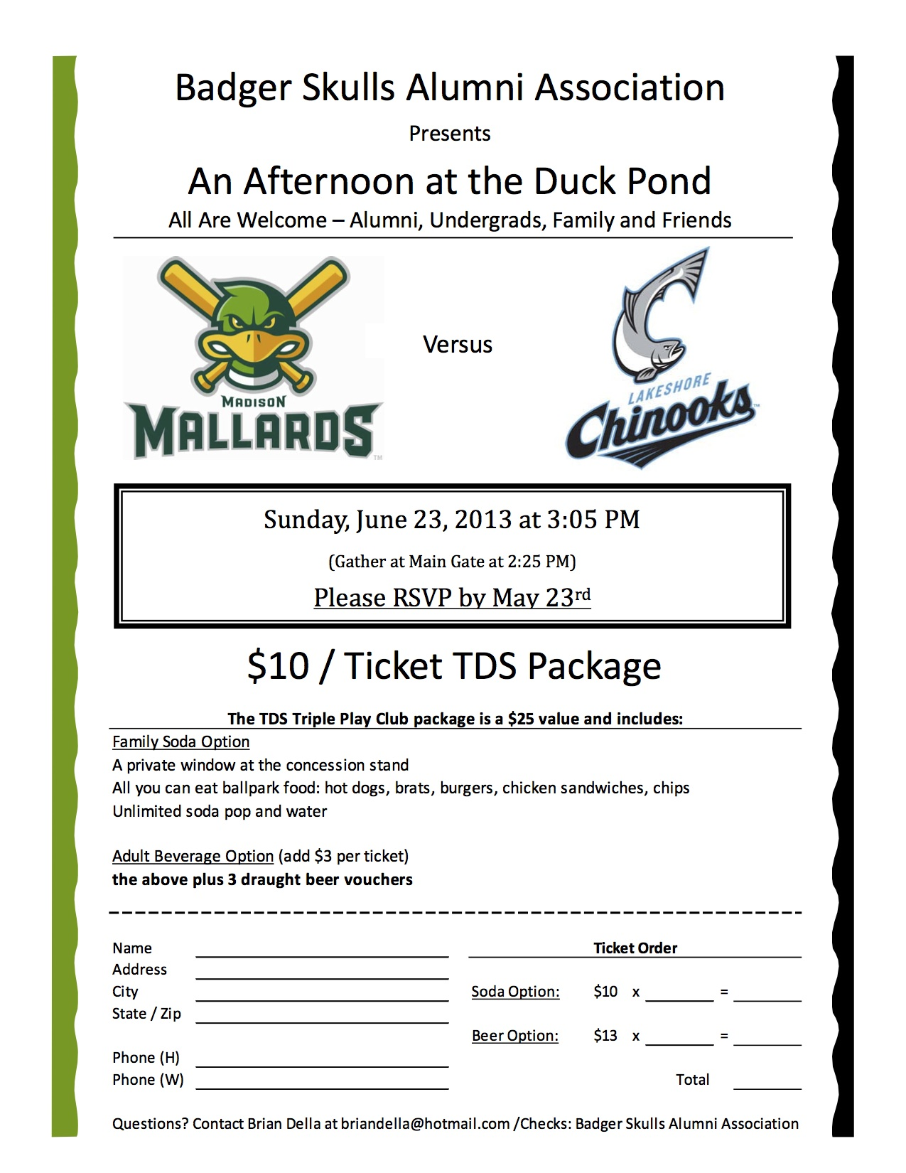 Mallards Game_BSAA Flyer_2013_V2