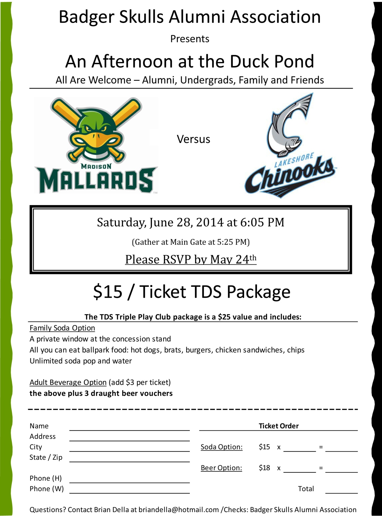 Microsoft Word - Mallards Game_BSAA Flyer_2014_$15.docx